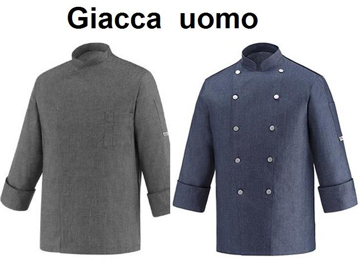 GIACCA CUOCO COLORE|Novalberghiera
