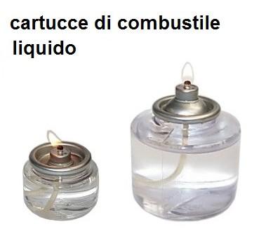 CARTUCCE COMBUSTBILE