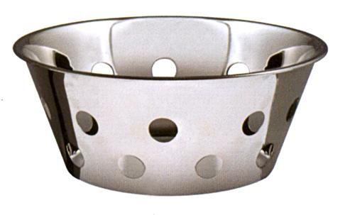 CESTO PANE INOX FORATO cm23|Novalberghiera
