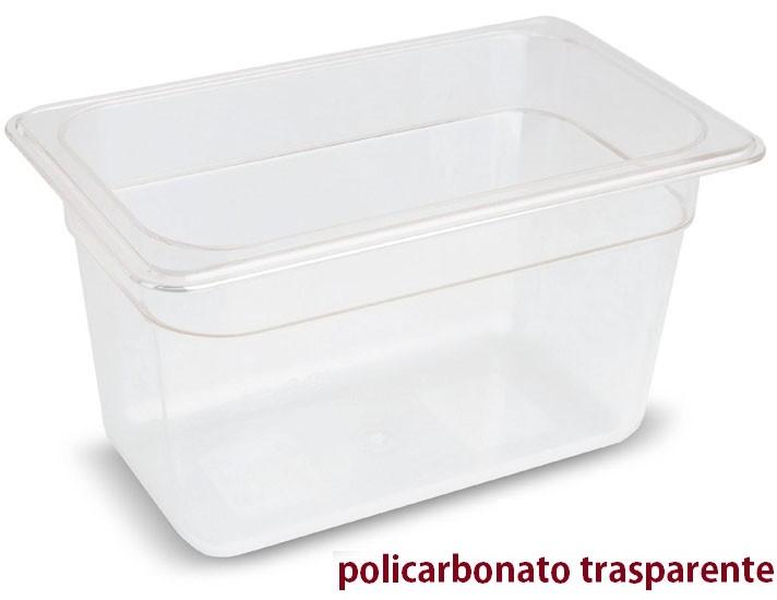 VASCA POLICARB. GN 1/4x10h|Novalberghiera