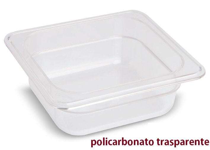 VASCA POLICARB. GN 1/6x6h|Novalberghiera