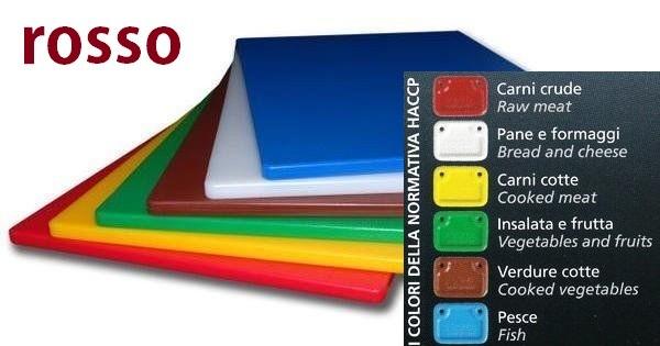 TAGLIERE GN rosso  53x32,5x2|Novalberghiera