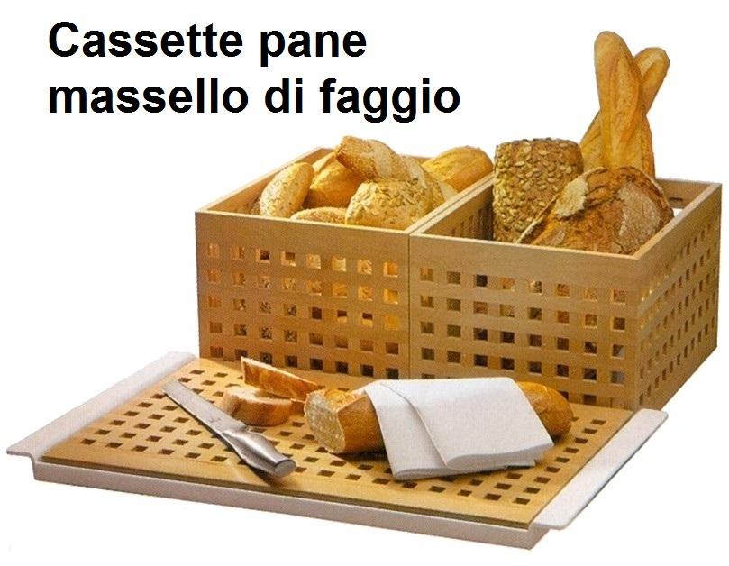 CASSETTE SERVIZIO PANE|Novalberghiera