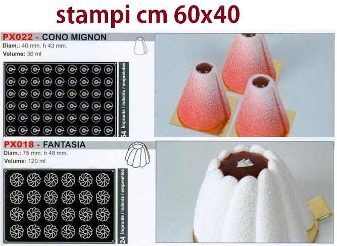 STAMPI SILICONE 60x40 | Novalberghiera