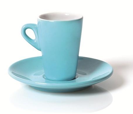 N.6 TAZZE CAF.C/P ELEGANT TURCHESE | Novalberghiera