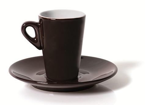 N.6 TAZZE CAF.C/P ELEGANT CIOCC. | Novalberghiera