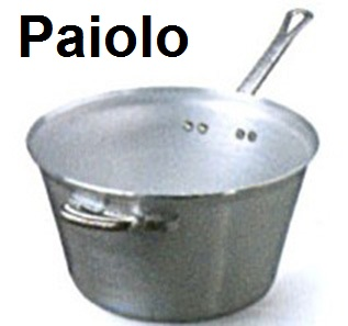 PAIOLO ALLUMINIO | Novalberghiera
