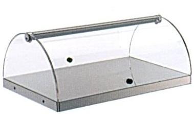 VETRINA 1P INOX  cm 80 -BN81R | Novalberghiera