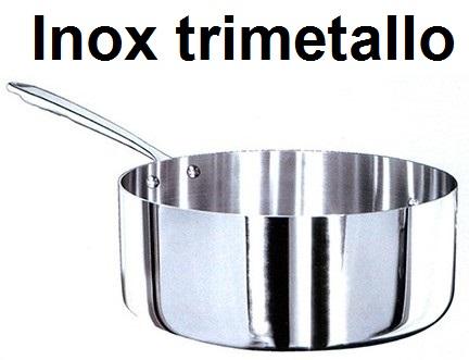 CASS.1M BASSA INOX TRIMETALLO | Novalberghiera