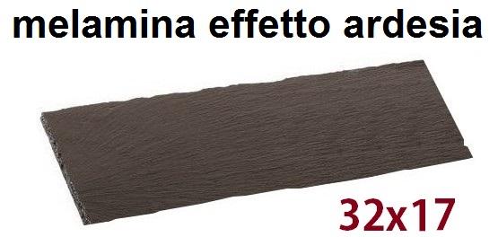 PIASTRA RETT.MEL.cm 32x17 N|Novalberghiera