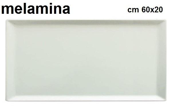VASSOIO MELAMINA BI.cm 60x20|Novalberghiera