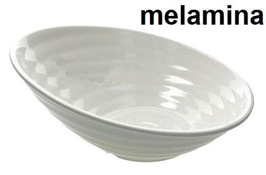 BOWL MELAMINA cm 35x14 bi Novalberghiera