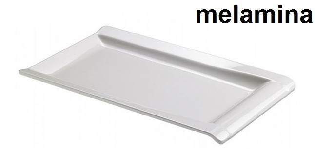 PIATTO RETT.MEL.cm 32x20 BI|Novalberghiera