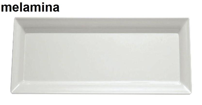 PIATTO RETT.MEL.cm 70x30 BI|Novalberghiera