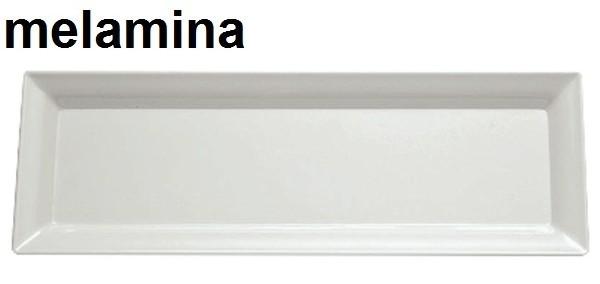 PIATTO RETT.MEL.cm 75x25 BI Novalberghiera