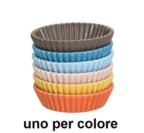 CUP CAKES 6 PEZZI cm 10 colore Novalberghiera