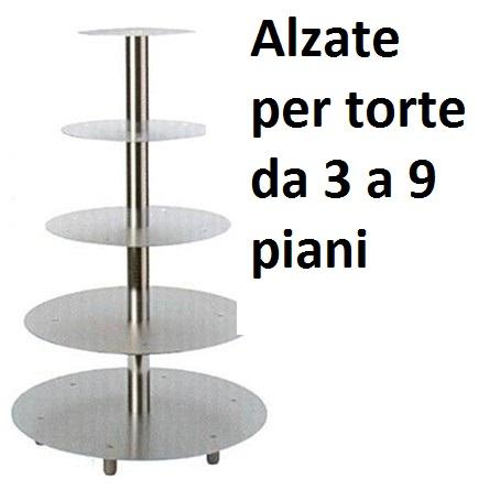ALZATE TORTE INOX/ALL | Novalberghiera