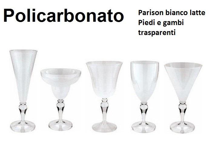 CALICE POLICARBONATO SERIE | Novalberghiera