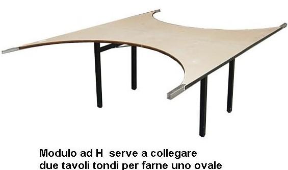 MODULO AD  H  160x80 -12000918 | Novalberghiera