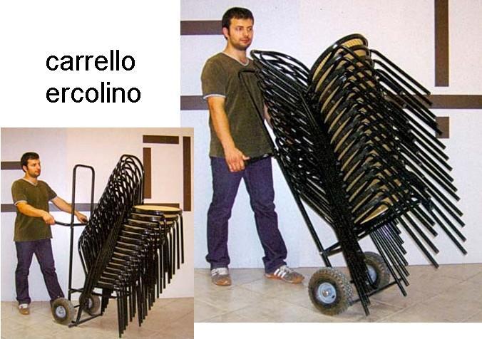 CARRELLO TRASPORTO SEDIE Novalberghiera