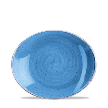 BLUE PIANO OVALE cm 19|Novalberghiera