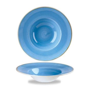 BLUE PASTA BOWL cm 24|Novalberghiera