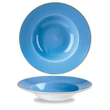 BLUE PASTA BOWL cm 28|Novalberghiera