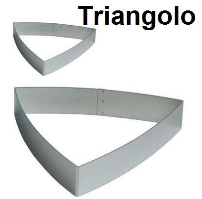 STAMPO INOX TRIANGOLO BOMB.|Novalberghiera