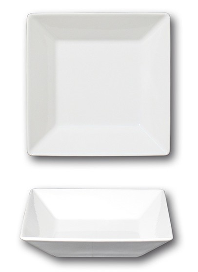 SQUARE H PIATTO FONDO cm 20x20|Novalberghiera