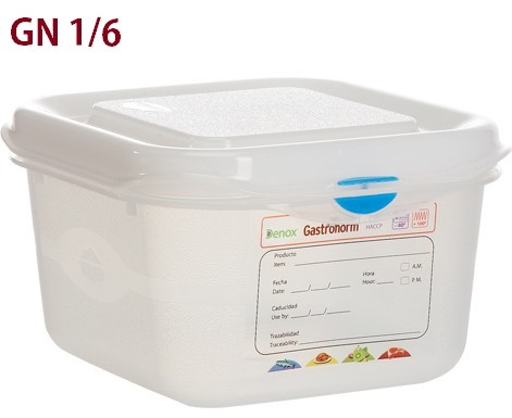 VASCA GN 1/6 POLIPR.C/COPERCHIO | Novalberghiera