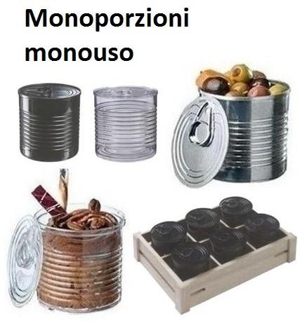 SERIE MONOPORZIONI E FINGER FOOD