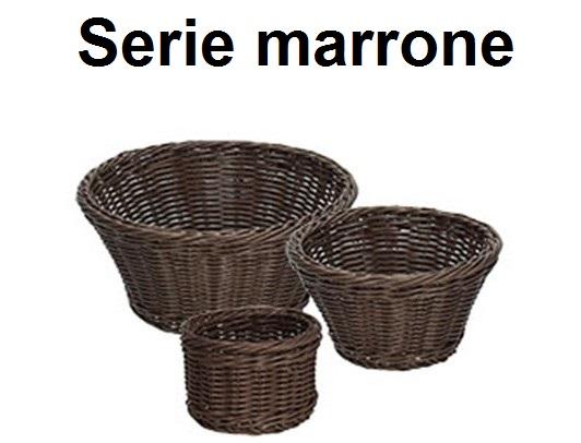 SERIE CESTI MARRONE