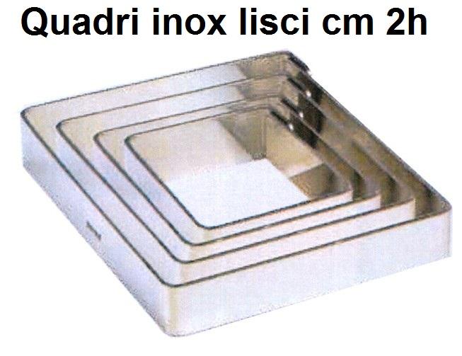 QUADRO INOX h cm 2|Novalberghiera