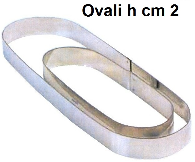 OVALE INOX h cm 2|Novalberghiera