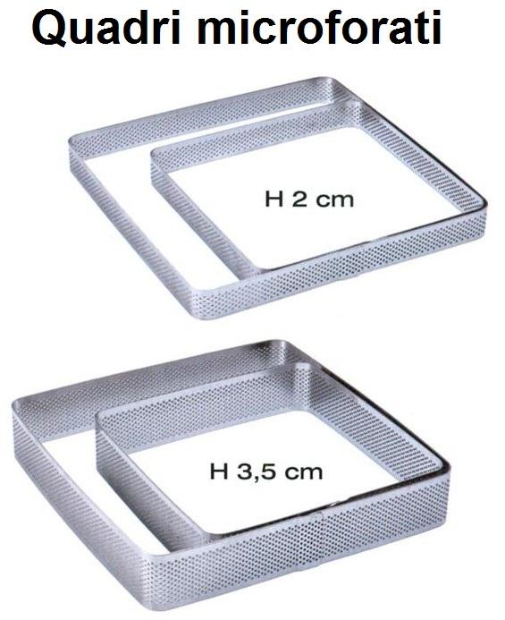 QUADRO INOX MICROF.h cm 2 e 3,5|Novalberghiera
