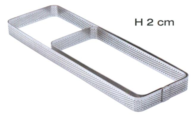 RETT.INOX MICROF.A.T.mm 190x70x20h|Novalberghiera