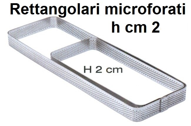 RETT.INOX MICROF.h cm 2 e cm 3,5 Novalberghiera