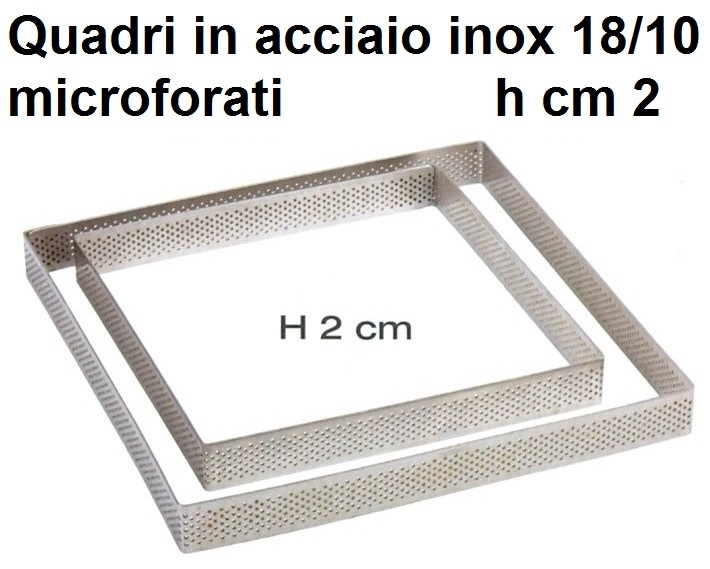 QUADRO INOX MICROF.h cm 2|Novalberghiera