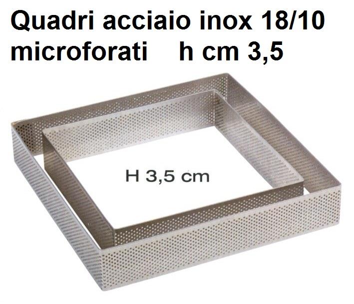 QUADRO INOX MICROF.h cm 3,5 Novalberghiera