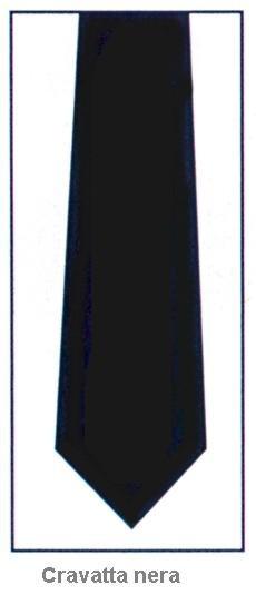 CRAVATTA NERA -115101|Novalberghiera