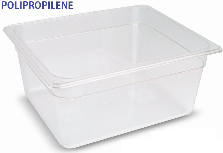 VASCA POLIPROP.c/cop. GN1/2x10h Novalberghiera