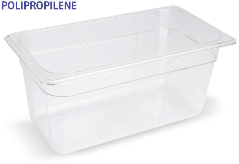 VASCA POLIPROP.c/cop. GN1/3x10h|Novalberghiera