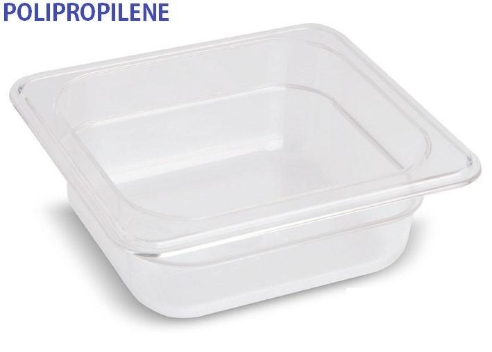 VASCA POLIPROP.c/cop. GN 1/6x6h|Novalberghiera