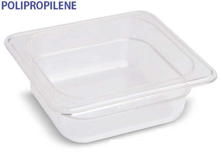 VASCA POLIPROP.c/cop. GN 1/6x15h|Novalberghiera