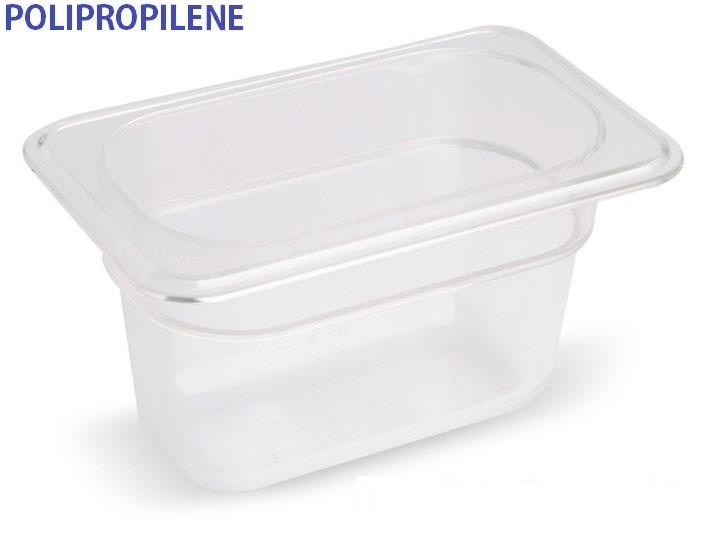 VASCA POLIPROP.c/cop. GN 1/9x6h|Novalberghiera