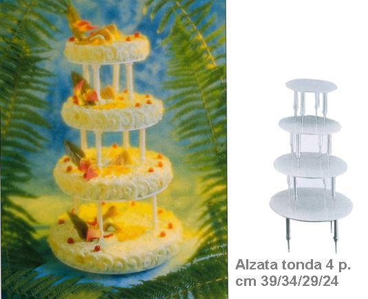 ALZATA 4P. TONDA -|Novalberghiera