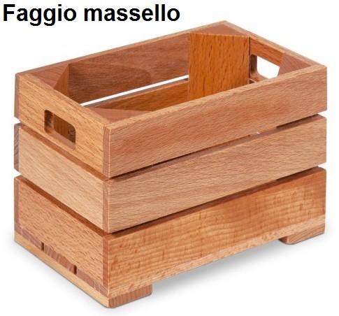 CASSETTA LEGNO cm 12x8x9h|Novalberghiera