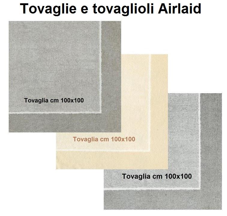 TOVAGLIE E TOVAGLIOLI AIRLAID | Novalberghiera