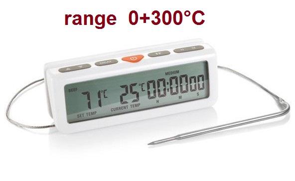 TERMOM.FORNO DIGITALE 300°C | Novalberghiera