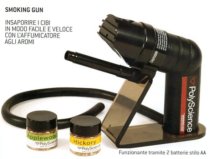 AFFUMICATORE (smoking gun)   Novalberghiera